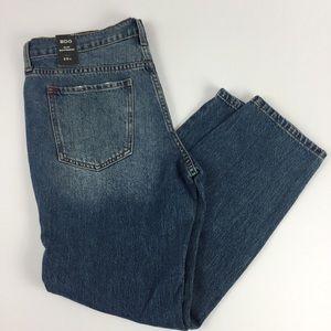 BDG Slim Boyfriend Ankle Jeans Size 39W NEW Dark
